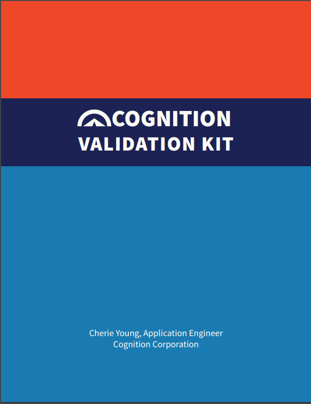 Cognition Validation Kit